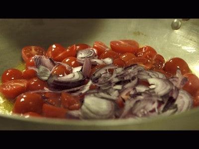 Penne 'nduja e pomodorini