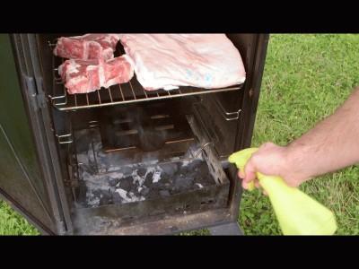 Bistecca di maiale affumicata con cavolfiore in agrodolce