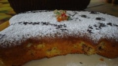 Torta allo yogurt bicolore