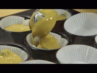 Muffins ai mirtilli senza burro