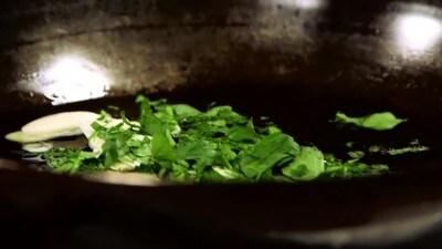 Gallinella con l'agliata
