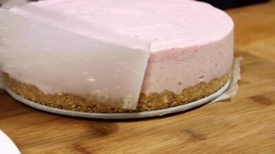 Cheesecake ricotta e lamponi