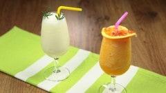 Sorbetto limone e rosmarino