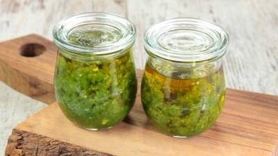 Salsa di peperoncini verdi piccanti