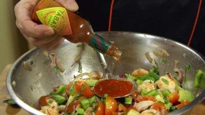 Cocktail di gamberi alla messicana