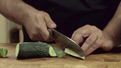 Insalata di cetrioli e mais