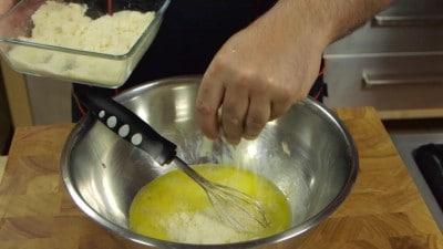 Frittata di porri e patate
