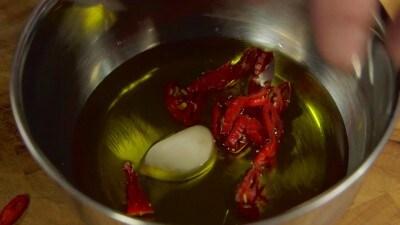 Zuppa rustica con misticanza