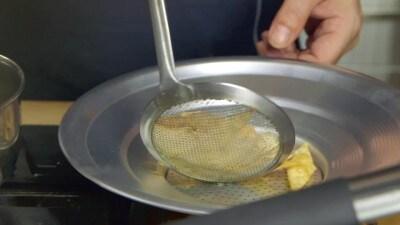 Crema di ceci con cozze e maltagliati