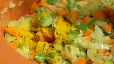 Zuppa di zucca e lenticchie