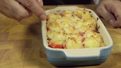 Peperoncini ripieni di patate e formaggio