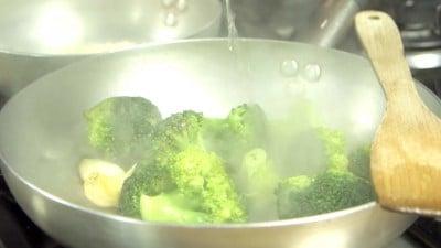 Crema di zucca e broccoletti