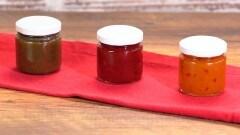 Marmellata di peperoni gialli, lime e zenzero