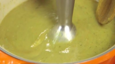 Crema di zucchine al curry