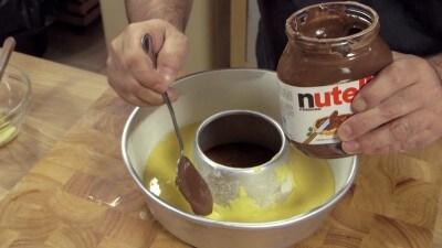Ciambellone alla Nutella