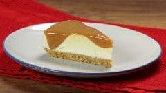 Cheesecake senza cottura al dulce de leche