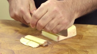 Pollo al formaggio e bacon