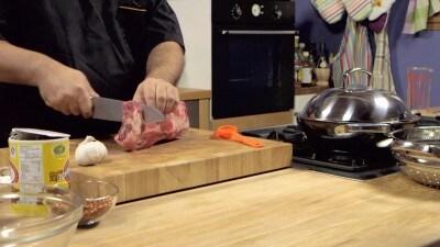 Costine di maiale al vapore con zenzero