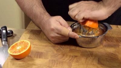 Costine di maiale all'arancia