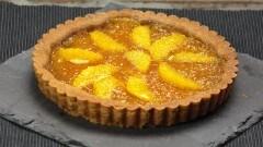 Crostata con marmellata d'arance