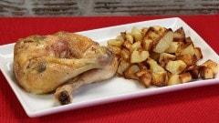Sovracosce di pollo con salvia al forno