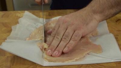 Petto di pollo ripieno ai funghi porcini