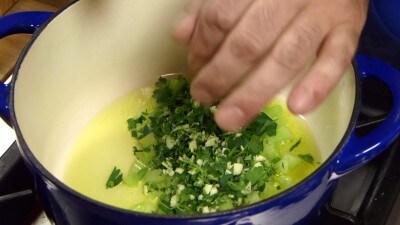 Zuppa di fagioli campana