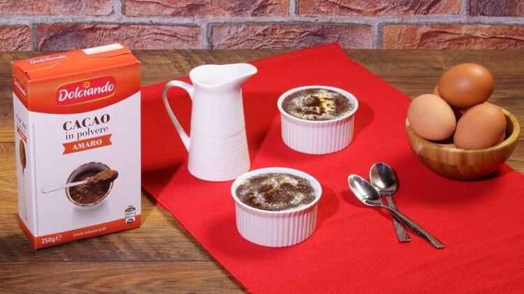 Crema catalana al cacao