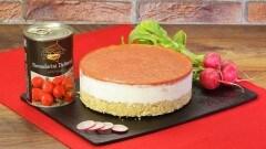 Cheesecake ai pomodori datterini