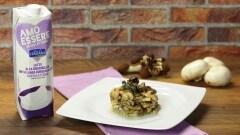 Petto di pollo con salsa ai funghi