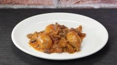 Salsiccia con fagioli e orcelle