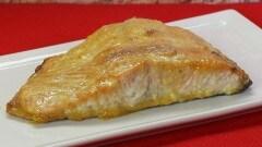 Salmone affumicato con senape e miele