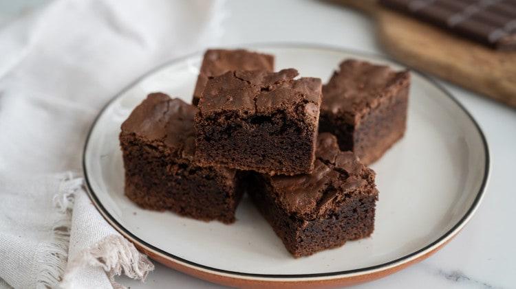 Torta brownies al cioccolato