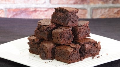 Brownies cremosi
