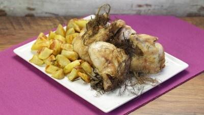 Pollo al finocchietto