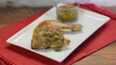 Pollo con salsa di capperi