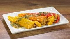 Peperoni ripieni di patate