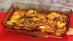 Patate al forno alla napoletana