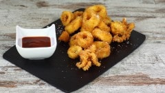 Calamari fritti speziati