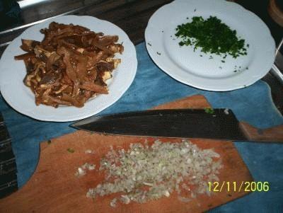 Gnocchi di grano saraceno, porcini e fonduta di parmigiano Reggiano