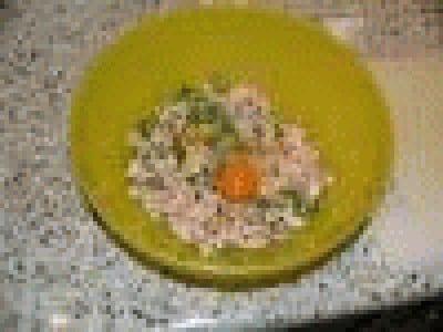 Ravioli di salmone al profumo di agrumi