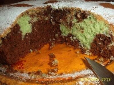 Torta cioccomenta