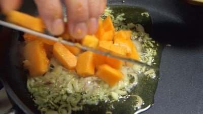 Risotto alla zucca e gorgonzola