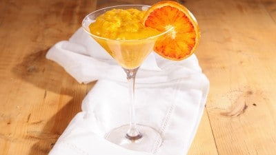 Crema leggera all'arancia