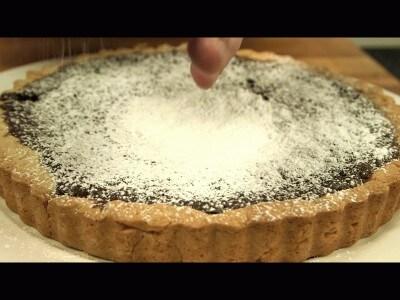 Crostata di cioccolato