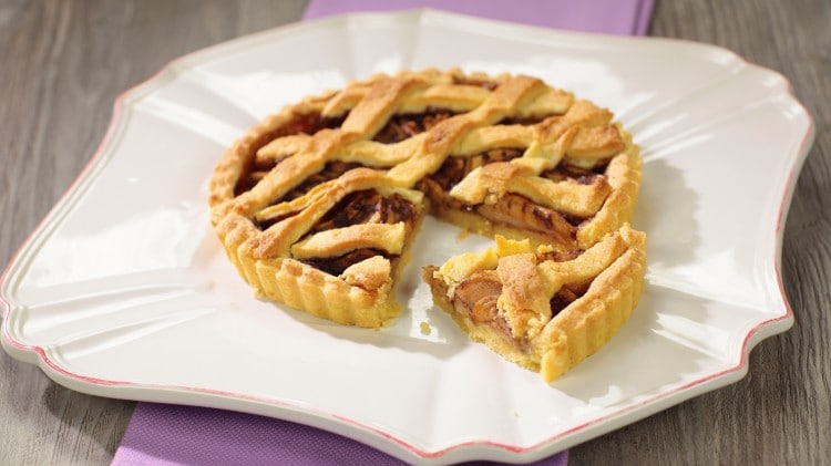 Crostata di mele ricette dolci cookaround for Crostata di mele