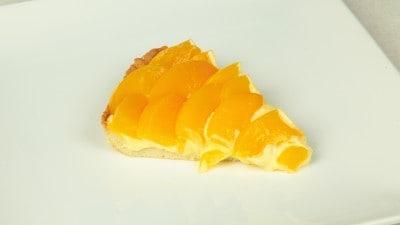 Crostata di pesche