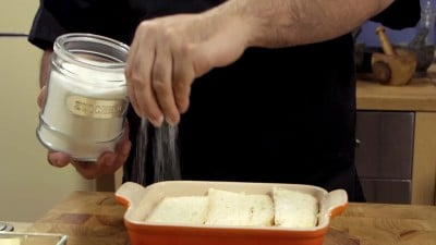 Torta di mele e pane