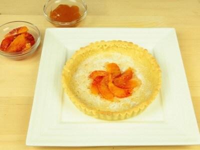 Crostata con le arance