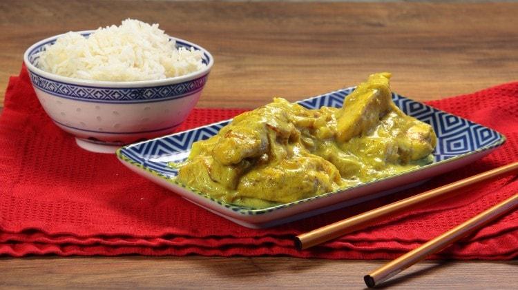 Petto di pollo al curry